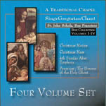 St. John Schola Box Set 1-4