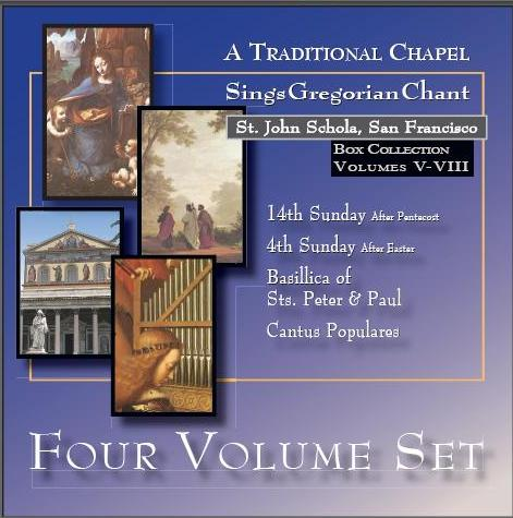 St. John Schola Box Set 5-8