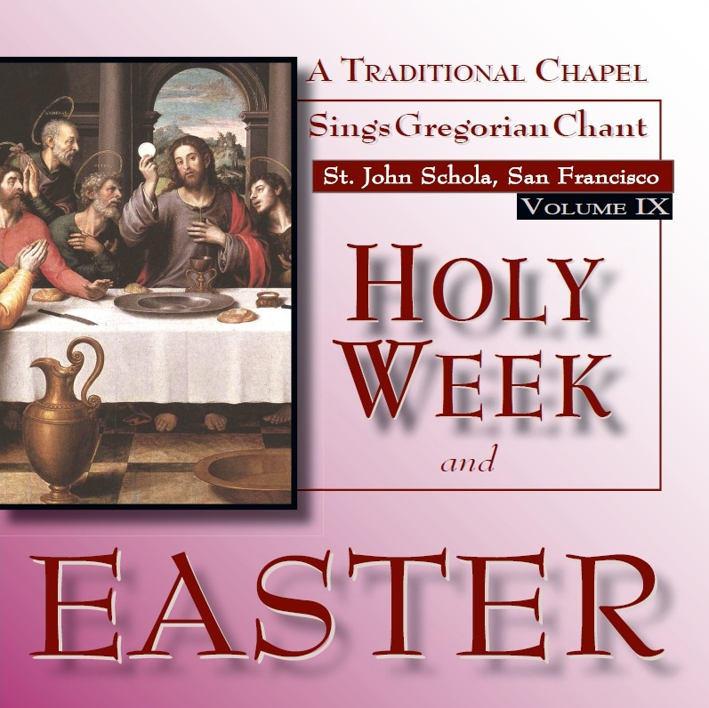 Holy Week and Easter CD