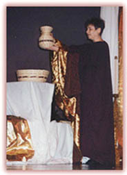 Franciscan Priestess