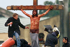 Filming the Crucifixion
