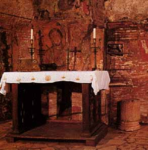 Mass in the Catacombs