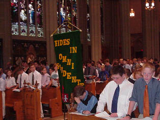 Youth at Traditional Mass