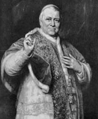 Venerable Pope Pius IX