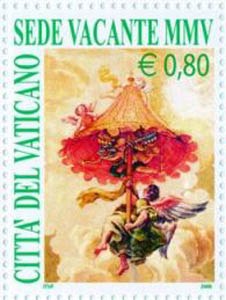 Sede Vacante Postage Stamp