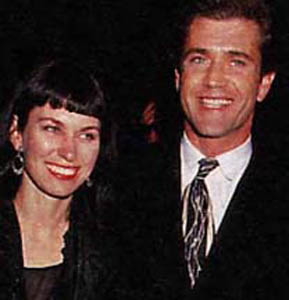 Mel Gibson and Wife