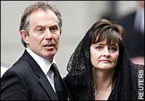 Tony Blair and Wife