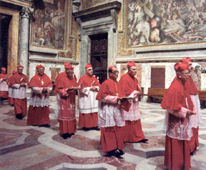 Cardinals Entering 1978 Conclave