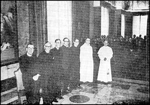 Paul VI & Six Protestant Ministers