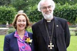 Rowan Williams & Wife