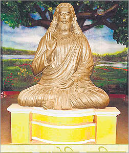 Christ as Buddha
