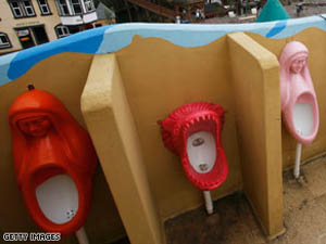 Communist Chinese Urinals
