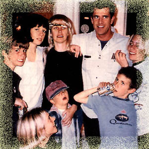 Mel Gibson and Family