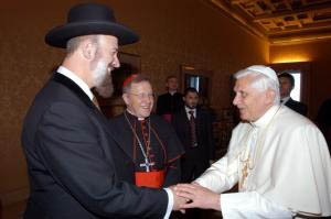 Pope & Rabbi