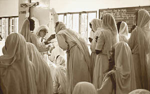 Mother Theresa & Her Novus Ordo Nuns