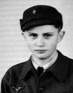 Joseph Ratzinger as Hitler Youth