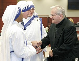 Mother Teresa's Nuns & Donald McGuire