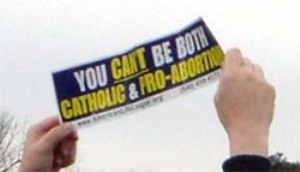 Abortion Sign