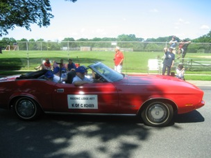 Knights of Columbus Masonic Parade Car