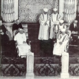 JPII in Roman Synagogue