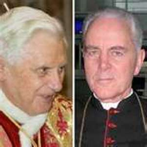 Benedict-Ratzinger and Richard Williamson