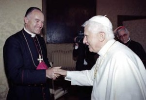 Bernie Fellay and Benedict-Ratzinger