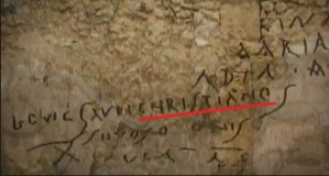 Christian Inscription at Pompeii
