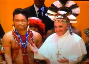 Aboriginal and Francis-Bergoglio