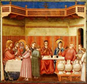 Giotto's Wedding at Cana