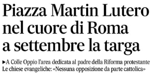 'Il Messaggero' Headline