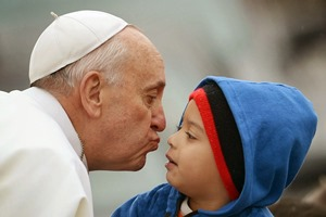 Francis-Bergoglio and Child
