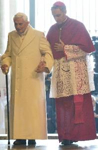 Benedict-Ratzinger and Georg Gaenswein