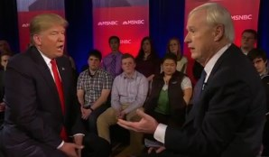Donald Trump and Chris Matthews