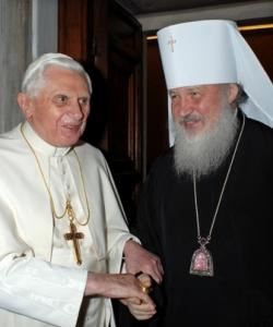 Benedict-Ratzinger & Kirill of Moscow