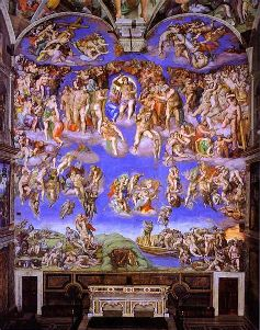 Michaelangelo's 'Last Judgment'