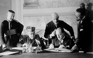 Signing of 1929 Lateran Treaty