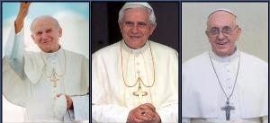 The Three Paedophile Newpopes