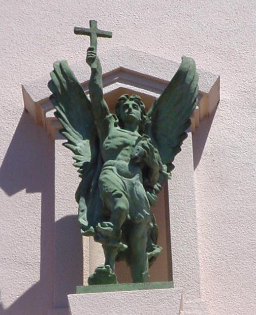 St Raphael Archangel Statue: TRADITIO Traditional Roman Catholic Internet Site
